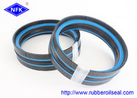 DAS Hydraulic Piston Seals Combined Double Acting NBR POM TPE Material