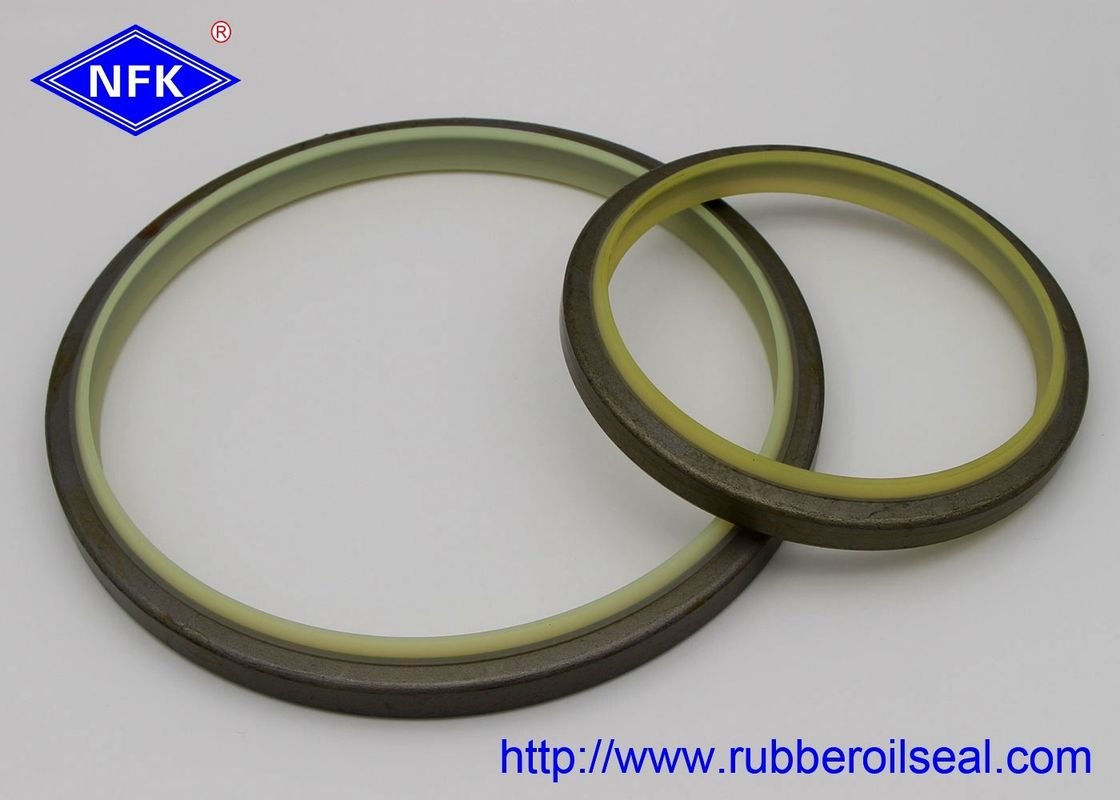 High Temp Dust Wiper Seal , IRON Metal Wiper Seal PU Material FD4046-E1 DKBI
