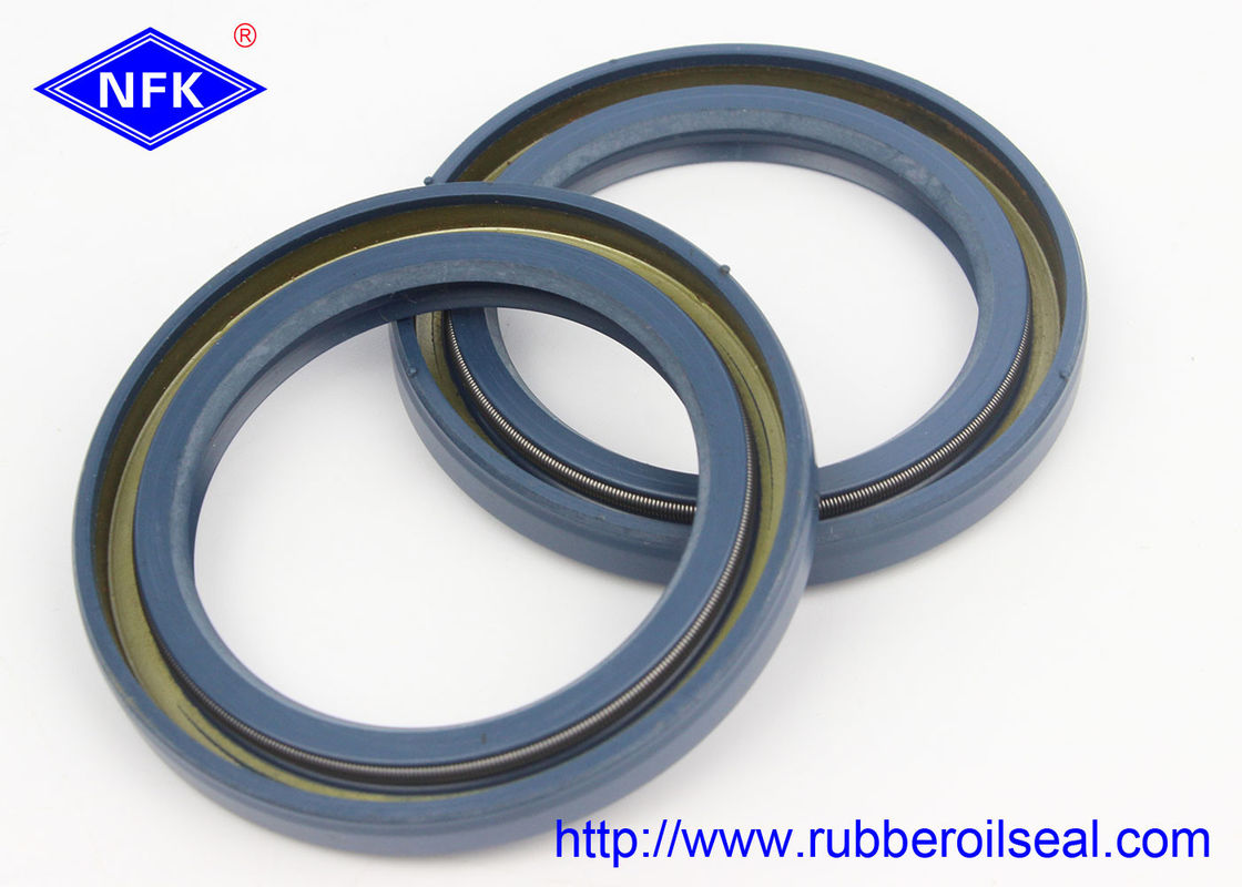 NBR / FKM High Pressure Oil Seals C Type Wear Resistant With Enough Inventor